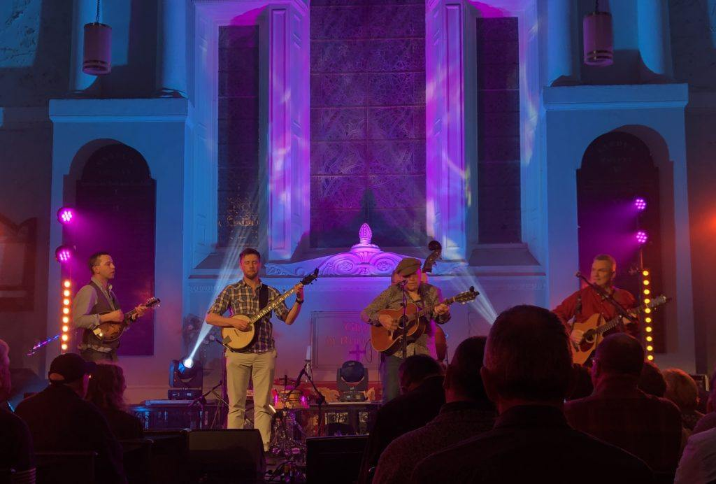Niall Toner Band at St. Michan's Church
